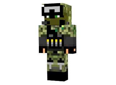 Skin Infanteria para Minecraft