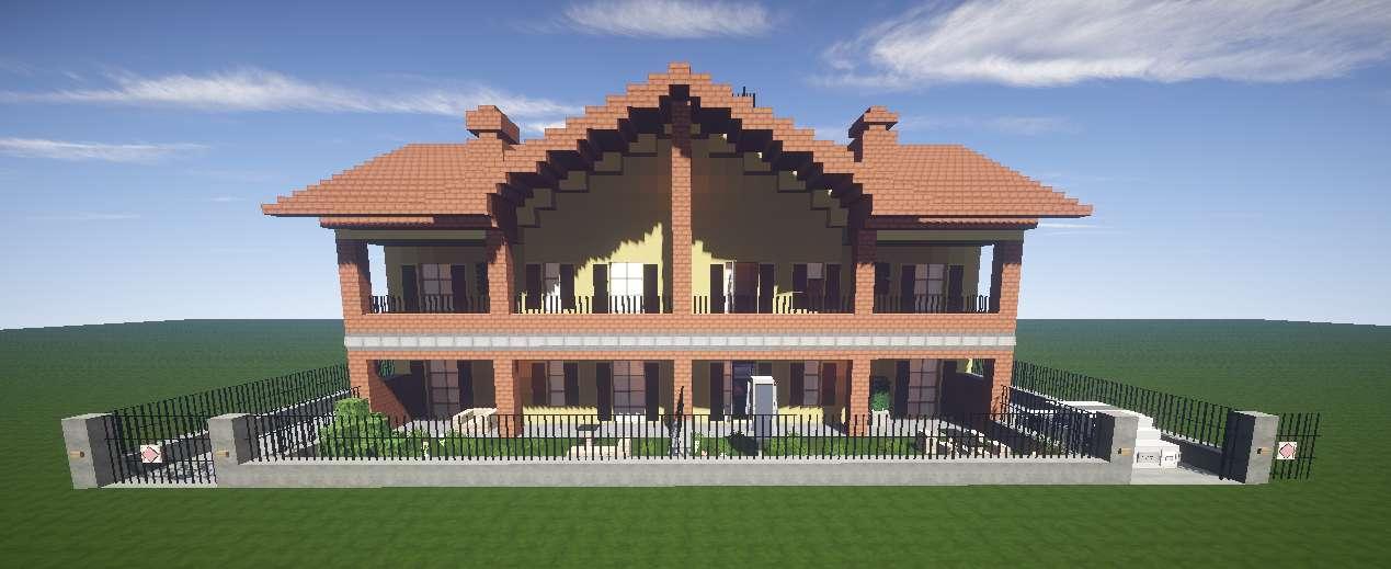Casa Italiana Minecraft