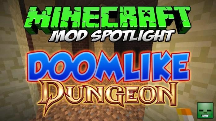 Doomlike Dungeons Mod para Minecraft 1.8