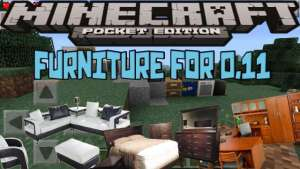 Furniture mod para Minecraft PE 0.11