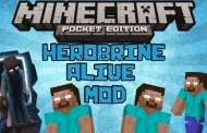 Herobrine Alive Mod para Minecraft PE