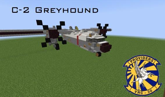 Avión C-2 Greyhound para Minecraft