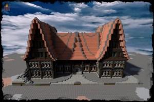 Ayuntamiento Medieval Minecraft