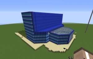 Edificio Cascada para Minecraft