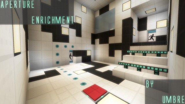 Packete Texturas Aperture Enrichment Minecraft