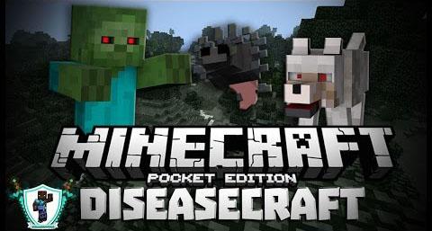 DiseaseCraft PE Mod para MCPE 0.10.5 / 0.10.4