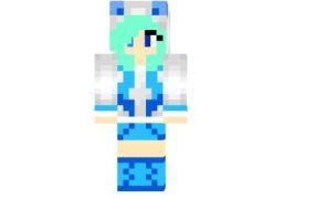 Skin Chica Glaceon Minecraft