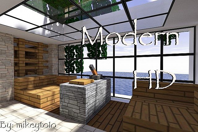 Modern HD Texture Pack Minecraft 1.5.2