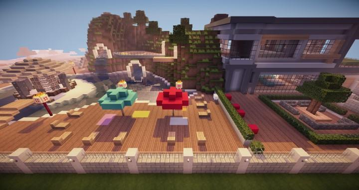 Descargar Nueva Casa Moderna Minecraft