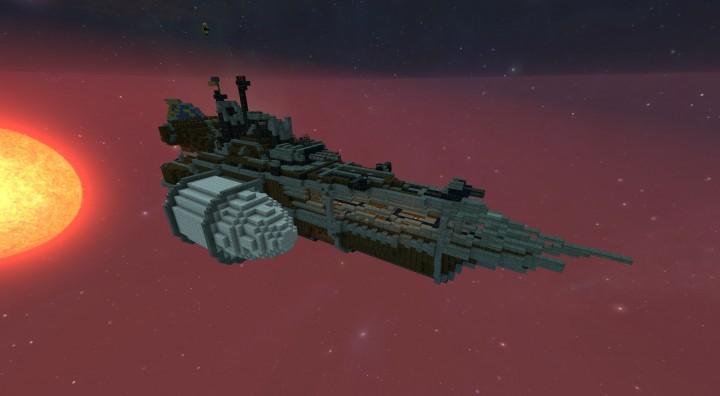 Nave de batalla Minecraft