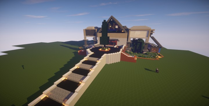 Mansion Moderna Minecraft
