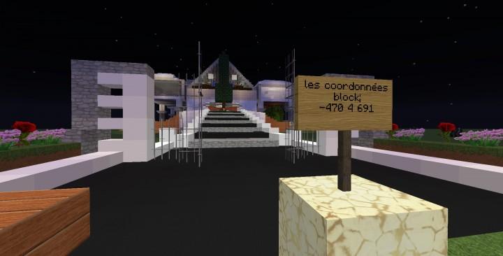 Descargar Mansion Moderna Minecraft