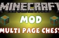Mod Multi Page Chest Minecraft 1.8/1.7.10/1.7.2/1.5.2