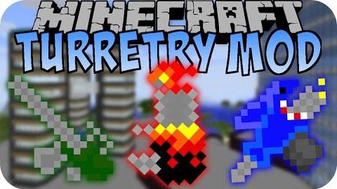 Turretry Mod Minecraft 1.7.10