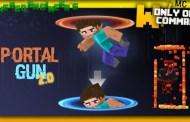 Portal Gun 2.0 Command Block Minecraft 1.9