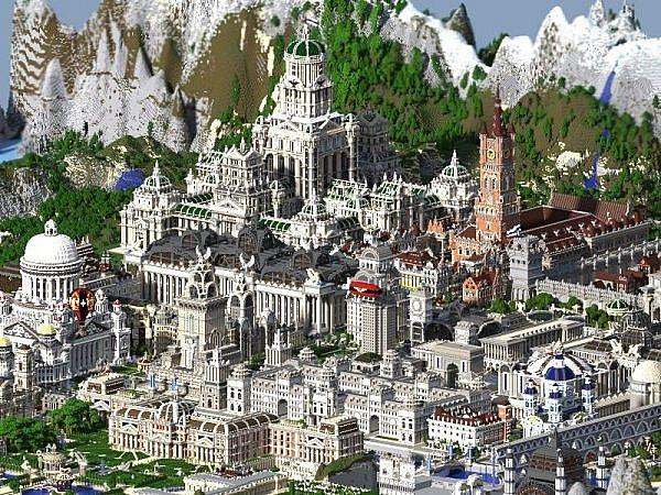 Descargar Ciudad Imperial Minecraft