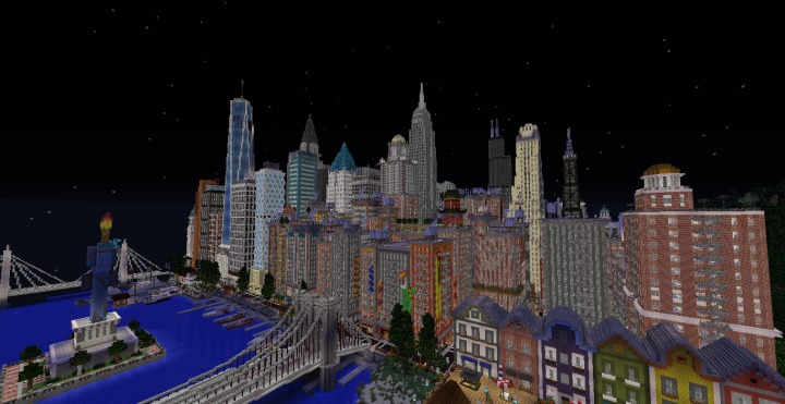 Patriotville Mapa Minecraft