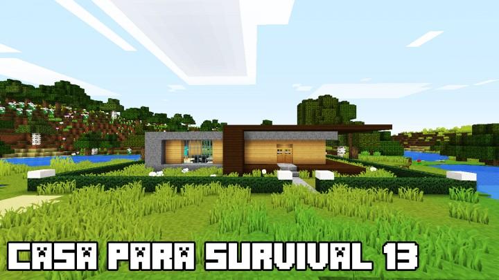 Casa survival Minecraft