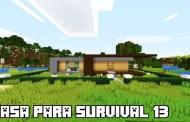 Casa para Survival Minecraft