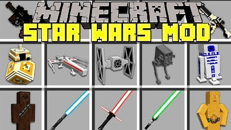 Star Wars Mod Minecraft 1.12
