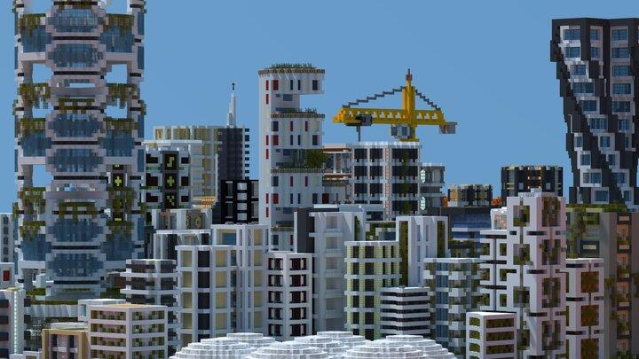 Metropolis ciudad Minecraft
