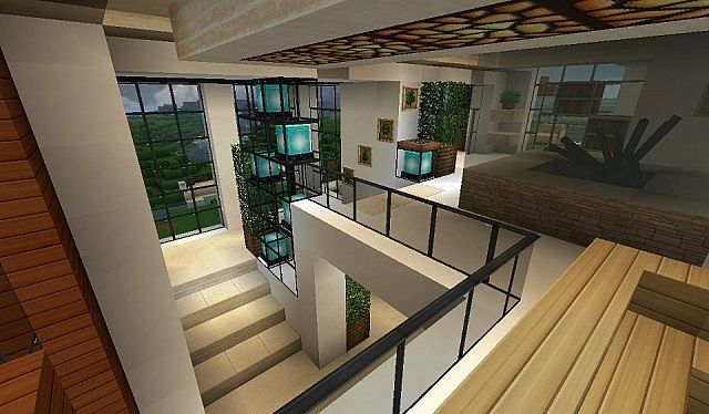 Modern house with style minecraft build 10 - Minecraft ...