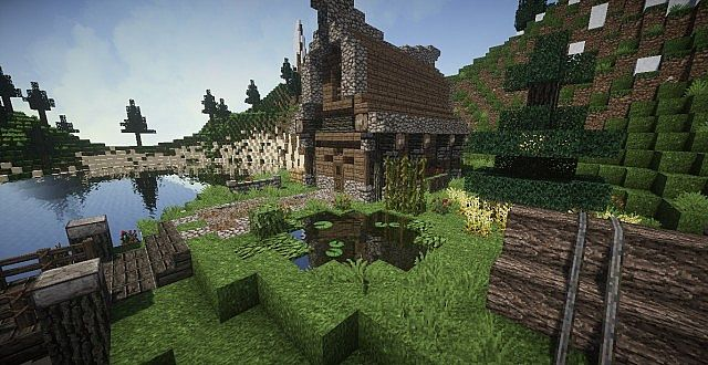 Medieval House On Island Minecraft House Design