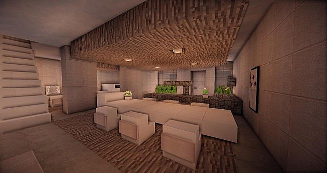 Buzzone Minimalist House Minecraft House Design