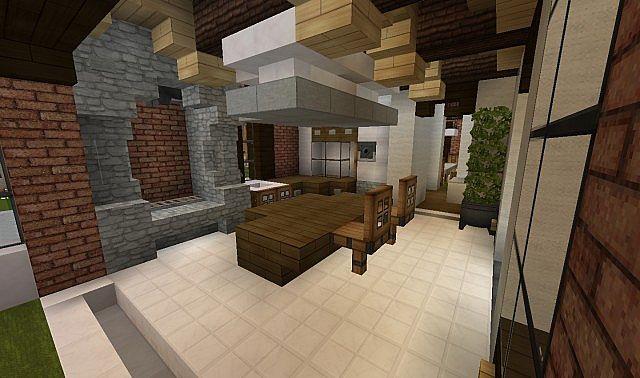 Modern Kitchen Old House