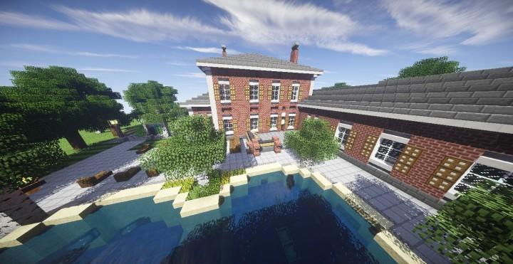 Minecraft Georgian House