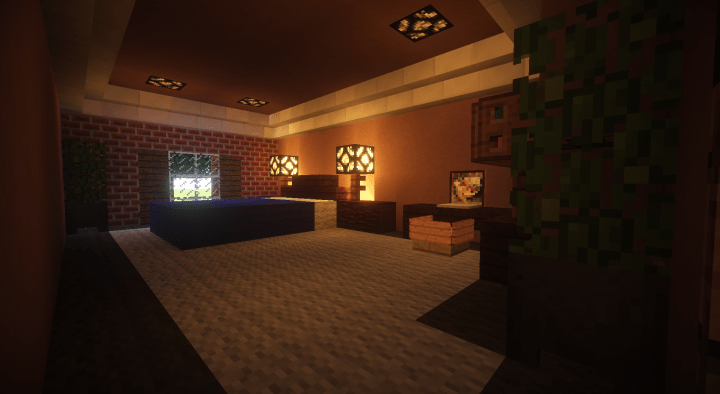 Brick Suburban House Minecraft House Design