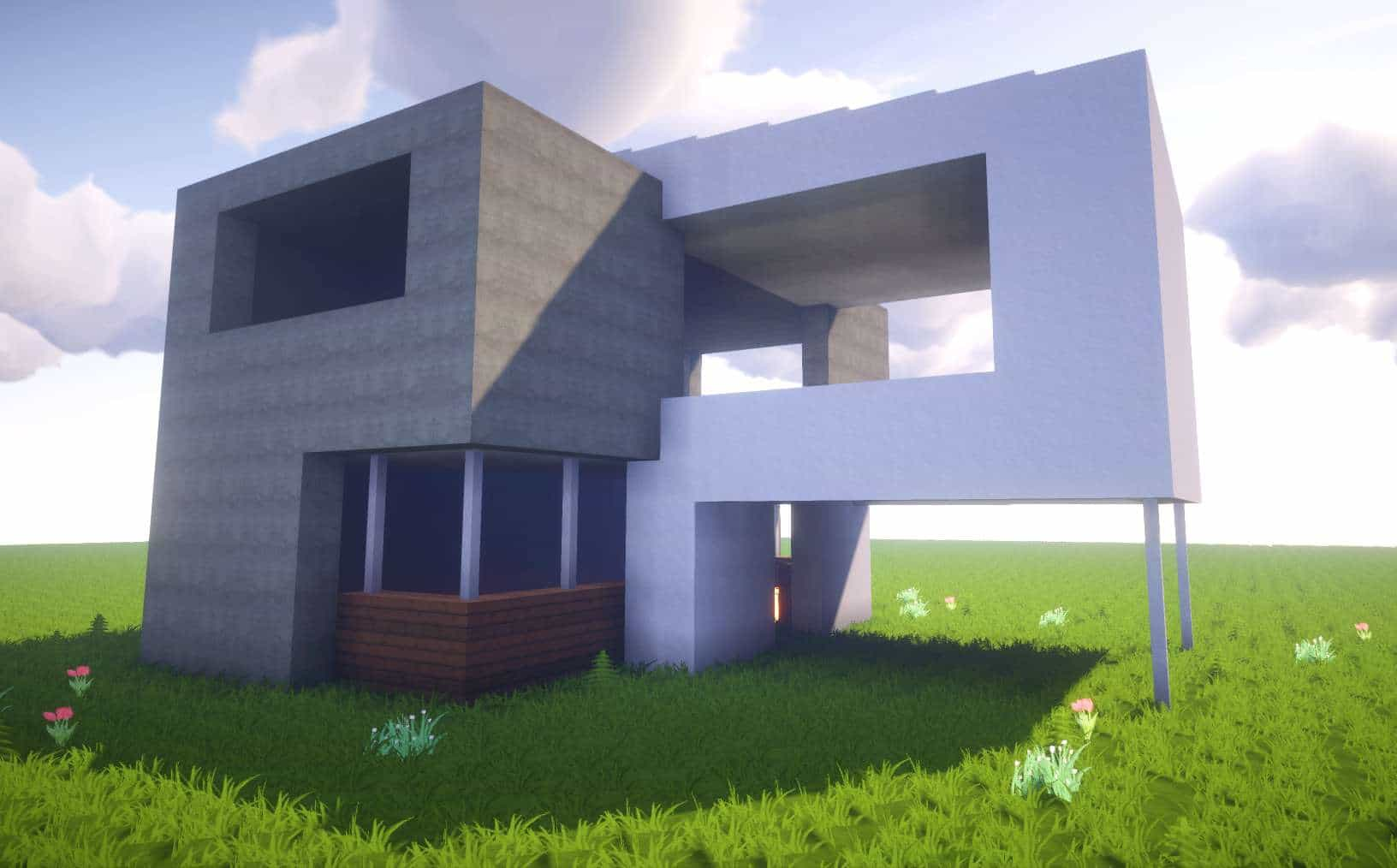 Minecraft: How To Build A Simple Modern House