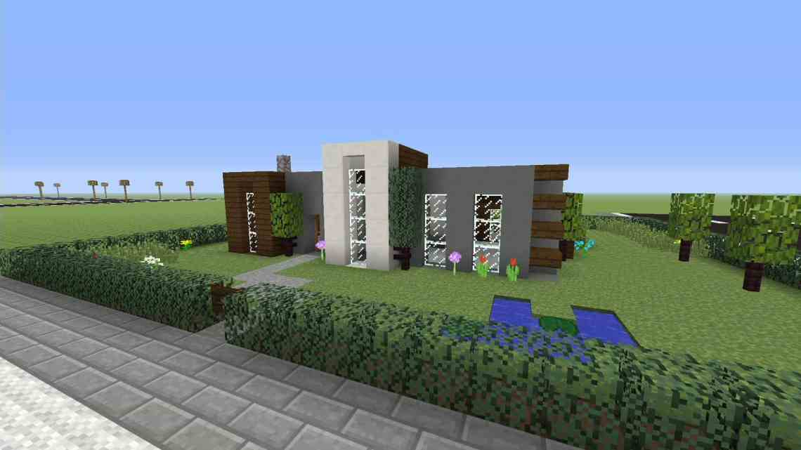Simple Modern House xbox one - Minecraft House Design