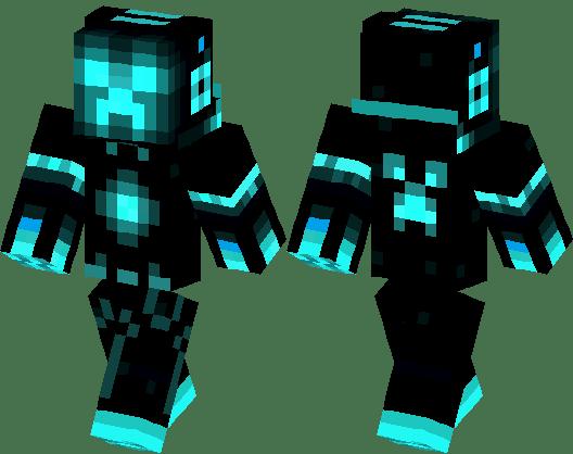 Cool EnderMan By TitanusGaming Minecraft Skin