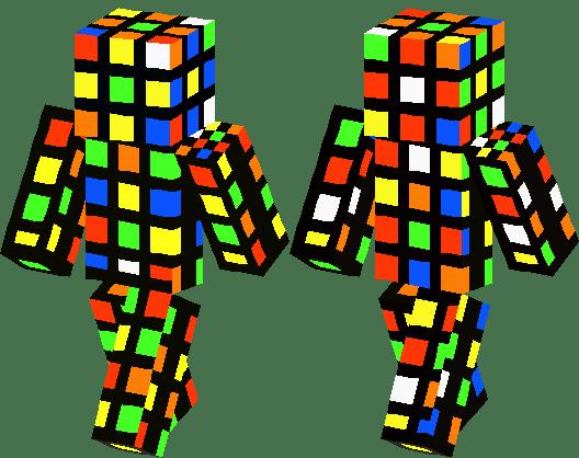 Rubix Cube Minecraft Skin Minecraft Hub