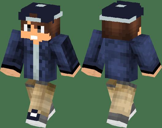 Cool Boy With Cap Minecraft Skin Minecraft Hub