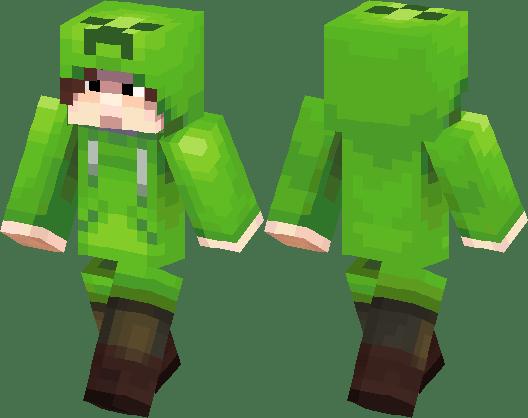 Creeper Costume Minecraft Skin Minecraft Hub