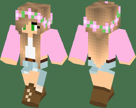 LittleKelly Skin Remake Minecraft Skin Minecraft Hub