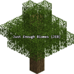 Just Enough Biomes (JEB) Mod