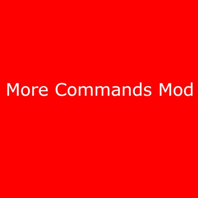 More Commands Mod