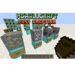 McWallCraft - Easy Crafting 1.7.2, 1.7.10 and 1.8 Mod