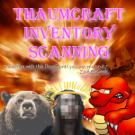 Thaumcraft Inventory Scanning Mod
