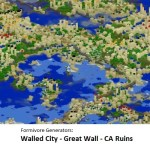 Formivore Generators: Walled City - Great Wall - CA Ruins Mod