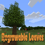 Regrowable Leaves Mod