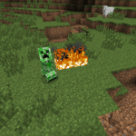 Creepers Fire Mod