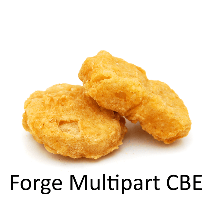 Forge MultiPart CBE Mod
