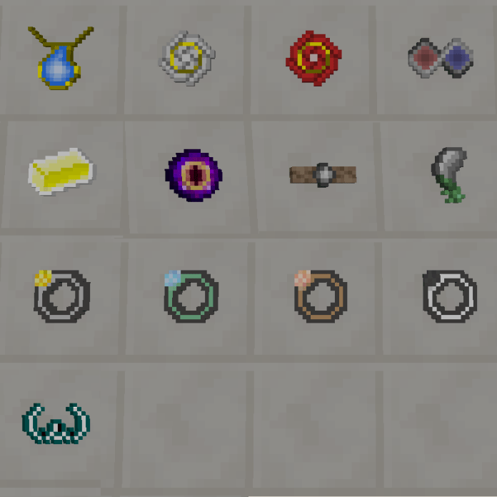 Trinkets and Baubles Mod