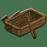 Oak Boat sa Minecraft.