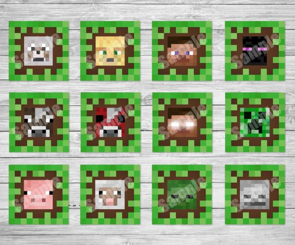minecraft printable images # 41