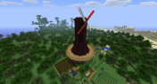 I used this wind turbine to power a set of Minefactory Reloaded farms and some processing machinery.
